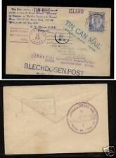 Tonga tin can mail   many nice markings