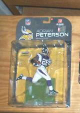 McFARLANE NFL 2008 ADRIAN PETERSON MINNESOTA VIKINGS FOOTBALL ACTION FIGURE NEW