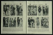 Royal Ascot Lady Angela Scott Patricia Ramsay Jock Buchanan 1927 2 Photo Article