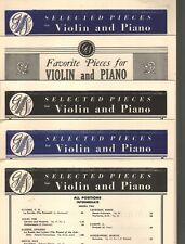 17 Classical Compositions for Violin and Piano Sheet Music