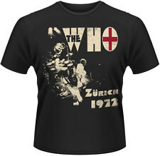 The Who - Zurich 1972 T-Shirt Homme / Man - Taille / Size M PLASTIC HEAD