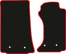 Mazda Mx5 Mk3 (2006 To 2015) Tailored Black Carpet Car Floor Mats With  Red Trim