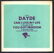 JOEL DAYDE 45T PROMO EP RIVIERA 121.348 FRENCH POP CAN I LIVE MY LIFE Neuf Mint