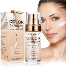 Liquid Flawless Colour Changing Complete Face Foundation BB Cream Skin Make Up