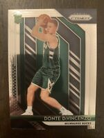 2018-19 Panini Prizm Basketball #246 - Donte DiVincenzo RC Rookie Card Bucks