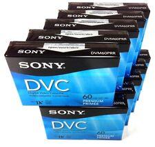 Sony DVM60PRR Premium Mini DV Minidv Camcorder Digital Video 60 min Tape 10 Pack