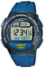 Casio Uhr Collection W-734-2AVEF blau Digital Stoppuhr