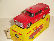 NASH RAMBLER FIRE CHIEF´S CAR DINKY TOYS  REF. 257