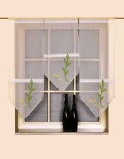 3er Set Flächenvorhang Scheibengardine Bistrogardine 2165 30x60/2x30x80cm grün