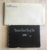 1980 U.S. MINT UNCIRCULATED SET + PROOF SET (2 SETS) IN OGP - w/1st S-MINT UNC $