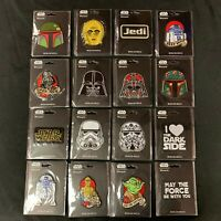 Star Wars Patch New Iron On Loungefly Iron-On Patch Vader, Yoda, Trooper, C-3PO