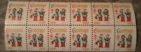 Christmas seals Block of 12 Mint Never hinged 1960