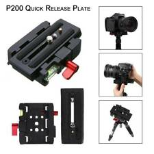 Quick Release QR Plate Clamp Adapter Base Station For Manfrotto 501 500AH