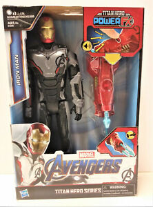 Avengers Endgame Titan Hero Power FX Iron Man 12-Inch Action Figure