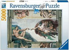 Michelangelo Creation of Adam Puzzle 5000 Pieces Ravensburger Rare Discontinued