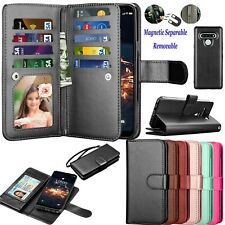 Luxury Leather Wallet Case Flip Holder Card Stand Protective Phone Cases Cover