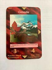 "Illuminati New World Order ""Canada"" Card Game very nice"