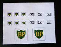 Matchbox Lesney Stickers / Decals for A1-b BP Petrol Pump & Sign