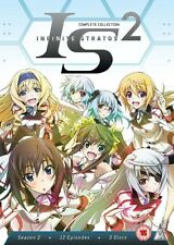 Infinite Stratos Complete Series 2 Collection DVD New Sealed ANIME Region 2 MVM