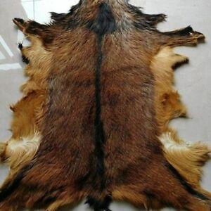 Deer Hide Rug Household Rug Fireplace Deerskin Decor Area Rug Animal TaxidermyUS