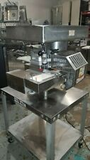 PATTY-O-MATIC 330 PATTY FORMER WITH STAINLESS STEEL TABLE W/ CASTERS- 115 volt