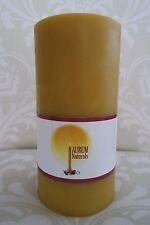 "Handmade 100% Beeswax Candle - 3"" wide x 6"" tall pillar"