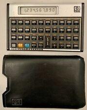 Vintage Hewlett Packard HP15C Scientific RPN 10-digit Calculator & Case; Tested