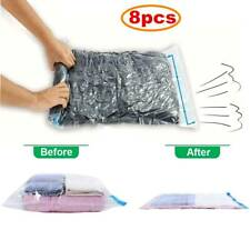 Travel Space Saver Bags Vacuum Storage Bag for Clothes,Compression Bags 8 Pack