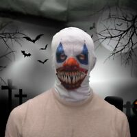 Fancy Dress Face Mask Adult Scary 3D Effect Horror Halloween Lycra Fabric Masks