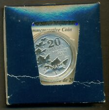 2011 CANADA $20 for $20 Maple leaves silver coin - First in series!!