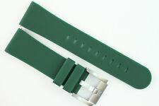 TW Steel Marc Coblen Edition Uhrenarmband 22mm Silikon Grün