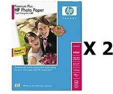 *NEW* HP Premium Plus Photo Paper, High Gloss 100 Sheets 8.5 x 11 Inches Q1785A