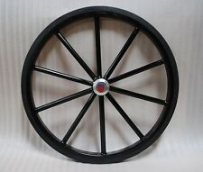 "24"" Pair of Solid Rubber Tires for Easy Entry style Horse carts"