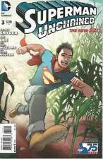 SUPERMAN UNCHAINED # 3, THE NEW 52: ANSWERED PRAYERS, COVER B. DC COMICS