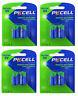 8 x CR123A Lithium Batterie ( 4 Blistercards a 2 Batterien) Markenware PKCELL