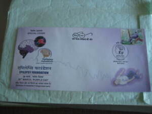 """2019 India Special Cover on """"Purple Day"""" Epilepsy Foundation - Limited Edition"""