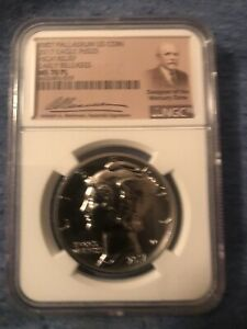 2017 Palladium Eagle MS 70 PL Early Releases NGC Top Graded Coin Low Pop!
