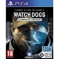 Watch Dogs Edizione COMPLETA Gioco PS4-Nuovo di zecca!
