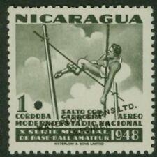 Nicaragua 1949 Vault 1cor World Series color sample-2