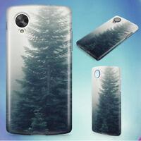 FOREST TREES FOG FOGGY HARD BACK CASE COVER FOR NEXUS PHONES