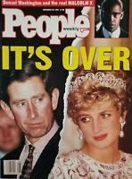 People Magazine Nov 30 1992 Princess Diana Split - Malcom X - No Label NM Unread