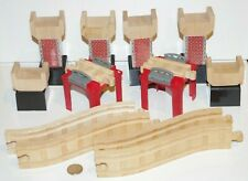 Thomas Friends Train Tank Wooden Railway - Elevated Track Foundation Risers Lot