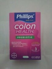 Phillips ®Colon Health ®  Probiotic For  Digestive Health 60 Caps Exp 10/2018+
