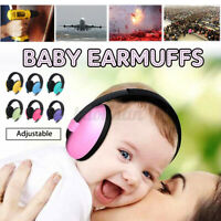 Baby Infant Earmuffs Ear muffs Sleeping Hearing Protection Noise Reducing