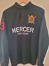 New listing Ralph Lauren Polo Team Mercer Club Multicolor Shirt Rugby Men Size XL Custom Fit