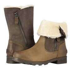 Sorel Emelie Foldover Major Waterproof Leather Boot - NEW - Choose Size