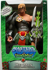 "HE MAN MOTU SNAKEMEN 12"" HEMAN MINT IN WINDOW BOX MATTEL NEVER REMOVED."