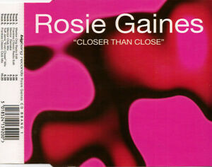 Rosie Gaines – Closer Than Close 6-Track CD Single Frankie Knuckles Mix