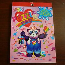 Lisa Frank Vintage Puzzle Pad w/Mazes, Dot-to-Dots, Word Search