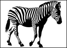 Custom Zebra vinyl decal sticker for car/truck laptop window custom